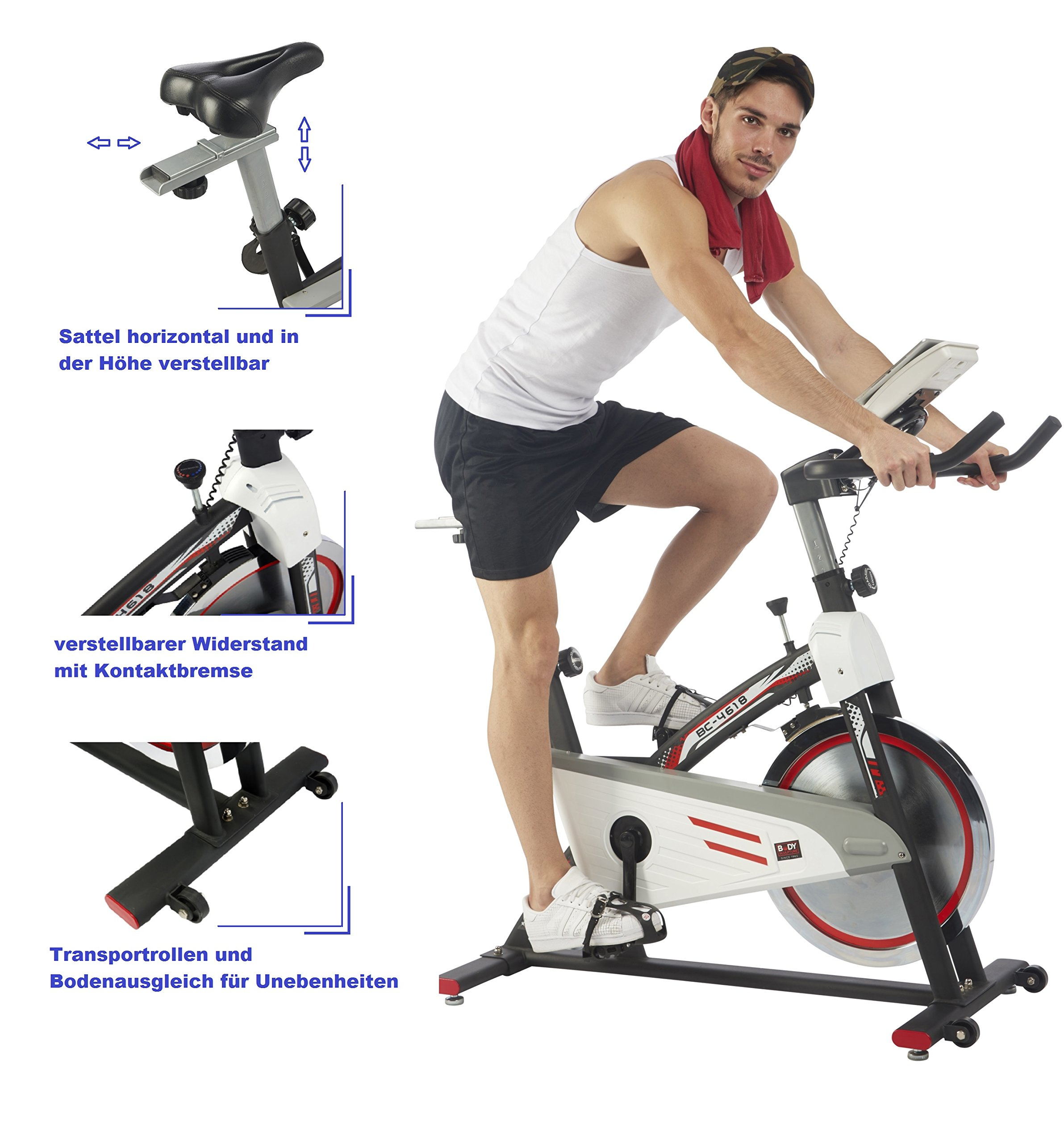 Body Sculpture - Bicicleta de entrenamiento interior Racing Bike ...