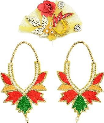Sweta Creations Ladoo Gopal Ji Lord Krishna Ji and All God and Goddess Kilingi and Mala (2 Mala and 1 Kilingi)