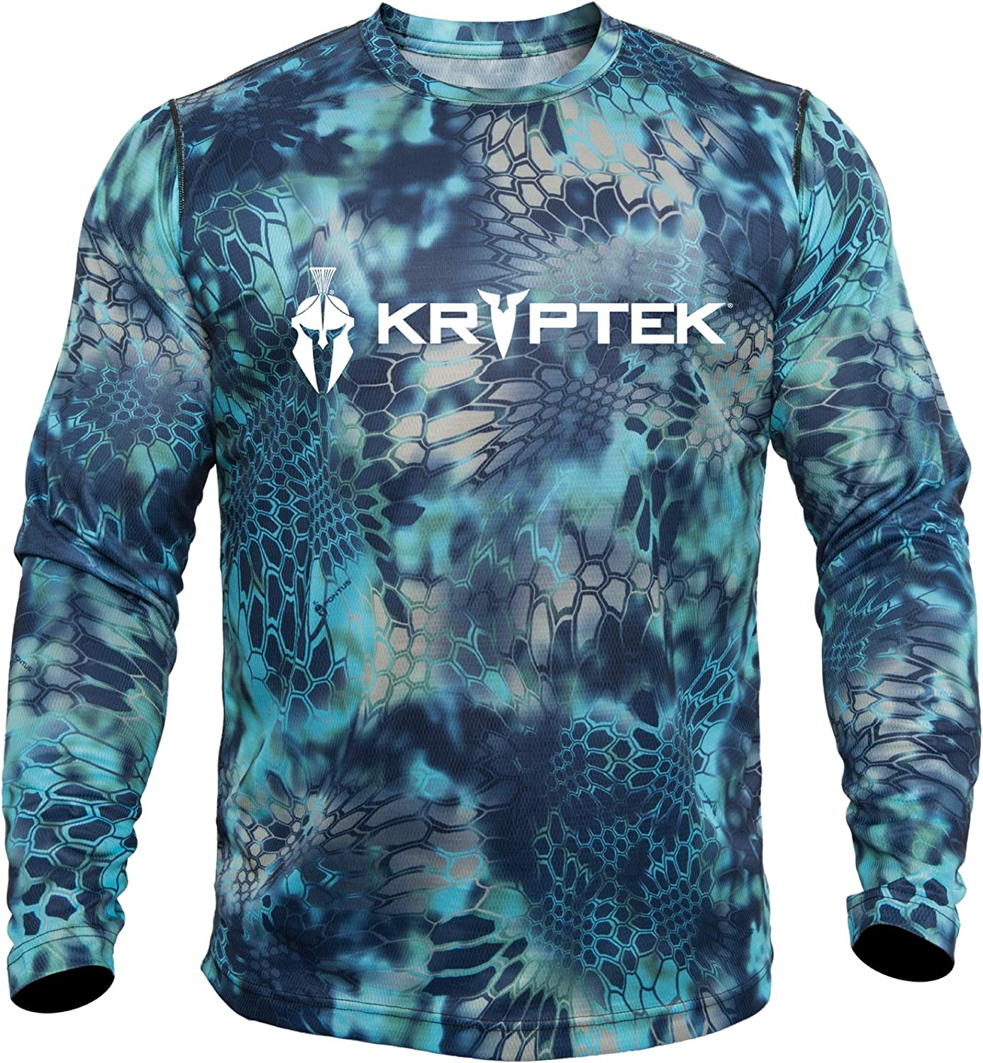 Industry No. 1 Kryptek Men's SEAL limited product Hyperion Ls Crew Logo with