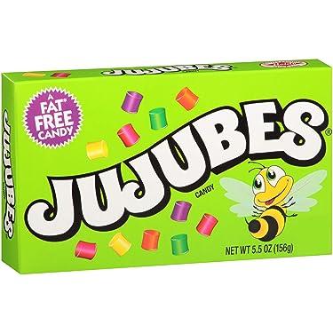 Gomitas Jujubes, caja de teatro de 5.5 onzas, paquete de 12