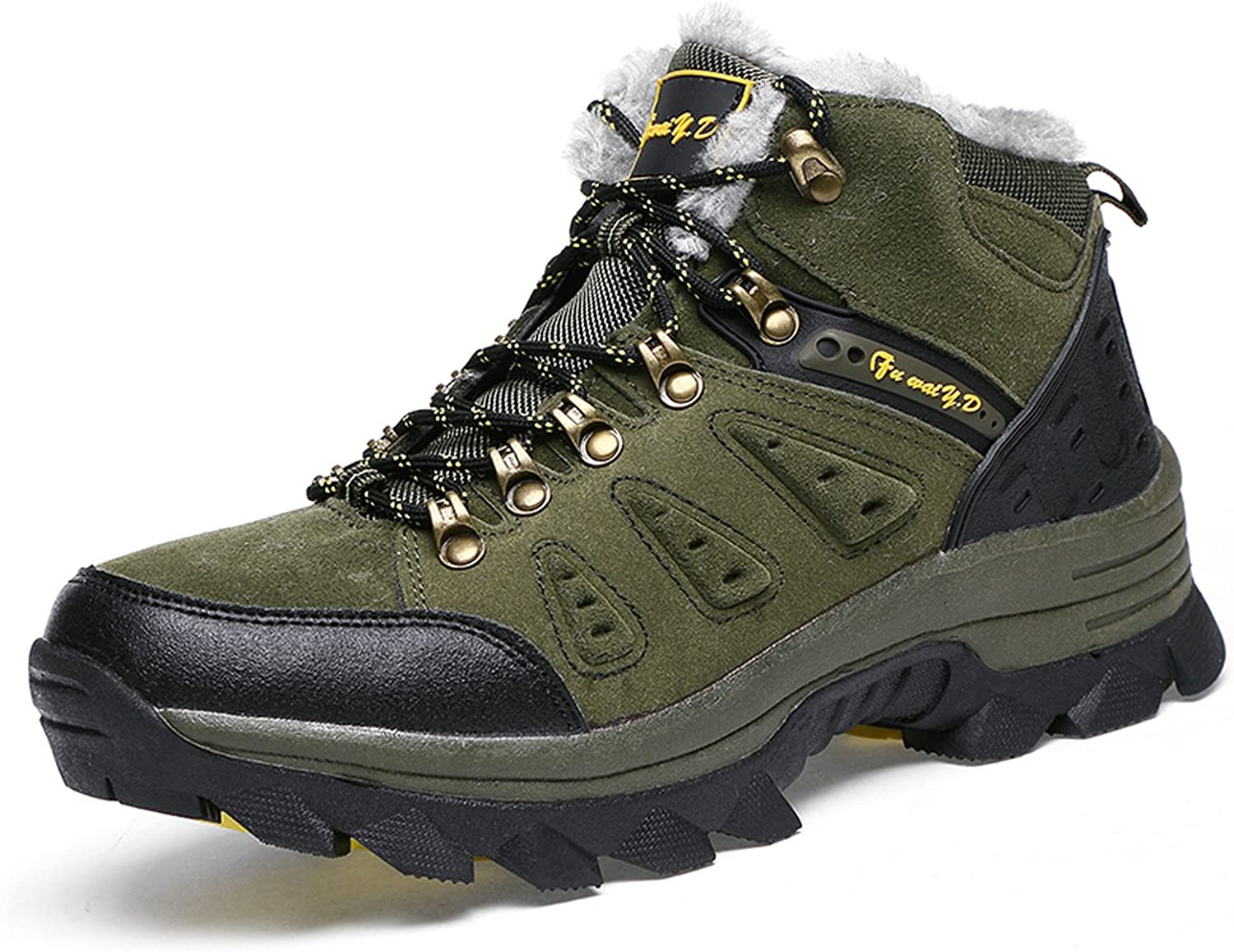 Oneone Men's Hiking Boots with Fur