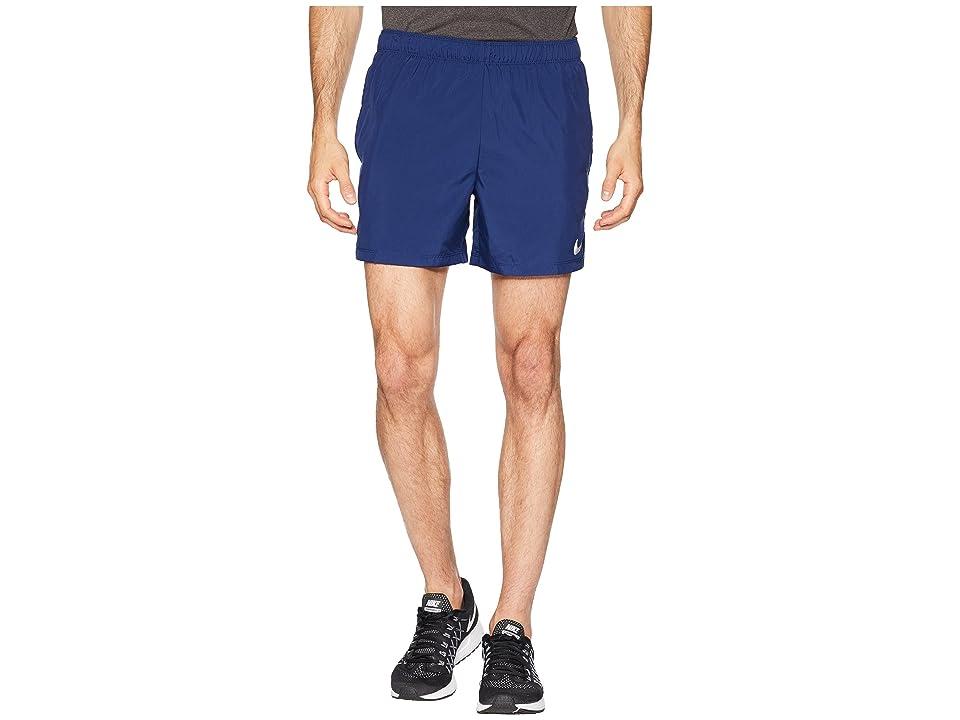 Nike Challenger 5 Running Short (Blue Void/Blue Void/Gym Blue) Men
