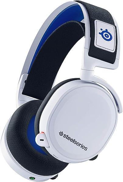 SteelSeries ゲーミングヘッドセット ワイヤレス 無線 ロスレス 低遅延 PS5 PS4 Switch PC対応 7.1chサラウンド Arctis 7P 61467