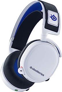 SteelSeries Arctis 7P ワイヤレス サラウンド ゲーミングヘッドセット ロスレス 低遅延 PS5/PS4/Switch/PC対応 【国内正規品】