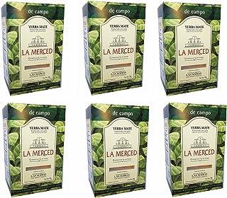 La Merced De Campo Yerba Mate 500 g (1.1 lbs) 6 Pack