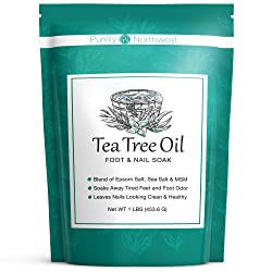 Tea Tree Oil Foot & Body Soak-Alleviates Toenail Fungus
