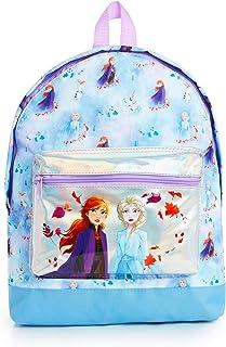 Frozen 2 Mochila Escolar Infantil Para Niñas Adolescentes, Princesas Disney Anna Elsa, Mochilas Escolares Juveniles Bolsillo Delantero Confeti Brillante, Regalos Para Niños Colegio Viaje