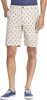 "Izod Men's Saltwater Stretch 9.5"" Chino Printed Shorts"