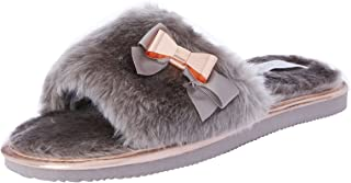 Grosby Women's Bow Slippers