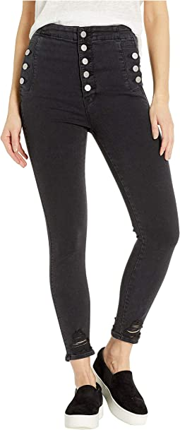 Natasha High-Rise Crop Skinny in Ballatrix Destruct