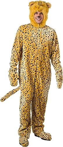 Adult Cheetah Fancy Fancy Fancy dress costume X-Large  precioso