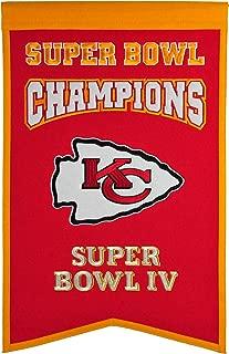 NFL Kansas City Chiefs Super Bowl Champions Banner