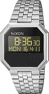 نيكسون ري-ران A158. ساعة رقمية للرجال مقاومة للماء 100 متر (وجه ساعة رقمية 38.5 مم. سوار من الفولاذ المقاوم للصدأ 13-18 مم).