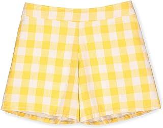Hope & Henry Girls' Pull-On Woven Short
