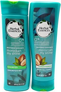 Herbal Essences Moroccan My Shine Nourishing Shampoo & Conditioner Set (10.1 Fl Oz Ea)
