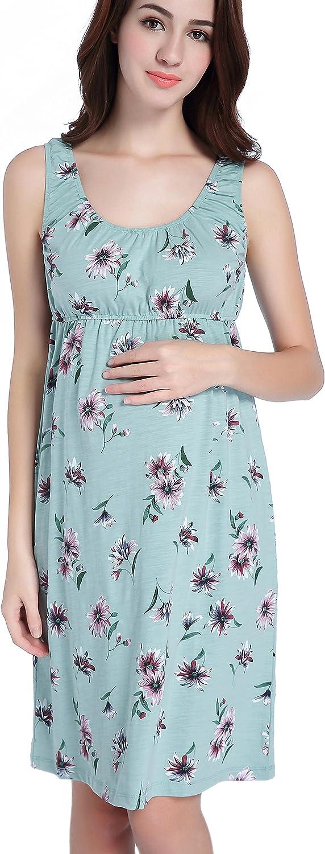CAKYE Industry No. 1 Maternity Nursing Nightgown Dress Breastfeeding Sleepwear Jacksonville Mall