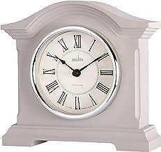 Acctim Milton 36977 Half Moon Glass Mantel Clock
