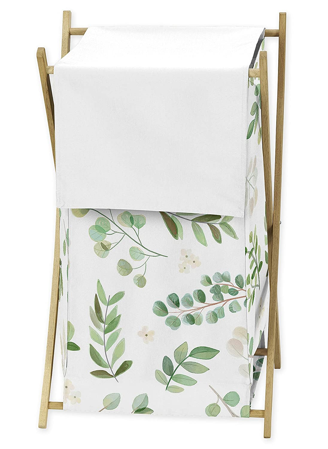 Sweet Jojo Designs Floral Leaf Indianapolis Mall Baby Laundry New Orleans Mall Kid Clothes Hamper -