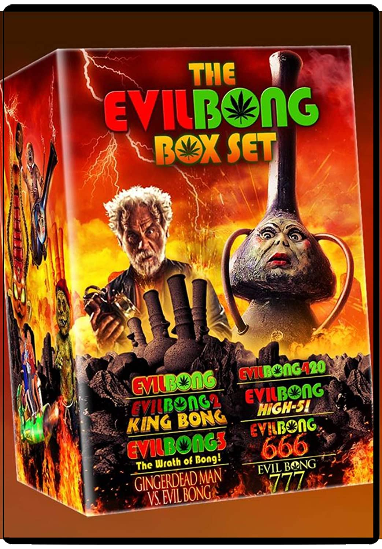 Columbus Mall The Evil Bong Complete Selling rankings Set DVD Box