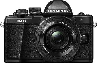 Olympus OM-D E-M10 Mark II Kit, Cámara de Sistema Micro Cuatro Tercios (16 MP, Estabilizador de Imagen de 5 Ejes, Visor Electrónico) y Objetivo M.Zuiko 14v - 42mm EZ, Plata