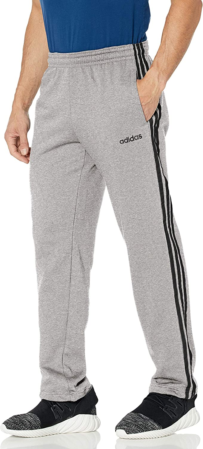 adidas Men's Animer and price revision Essentials 3-Stripes Pants Quality inspection Fleece Jogger