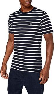 ORIGINAL PENGUIN Men's Breton Stripe Tee T-Shirt