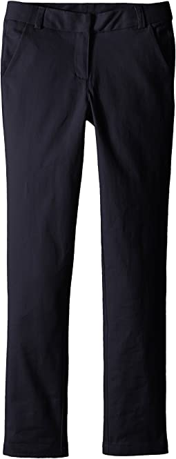 Straight Leg Stretch Twill Pants (Little Kids)