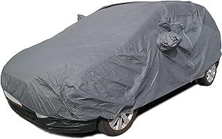 Sipobuy universel Housses pour auto enti/èrement imperm/éable /à leau Scratch Proof Housse de voiture durable coton respirant doubl/é Heavy Duty L: 480*175*120CM