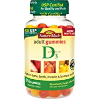 150-Count Nature Made Vitamin D3 Adult Gummies