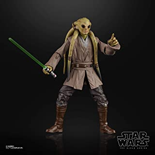 """STAR WARS E9329 The Black Series Kit Fisto Toy 6"""" Scale The Clone Wars Collectible Action Figure"""
