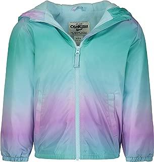 Osh Kosh Girls' Midweight Hooded Fashion Jacket Coat with Fleece Lining