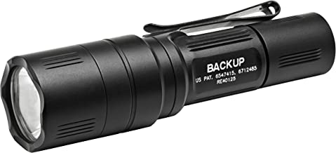 SureFire Backup Series LED Flashlight with TIR Lens and Two-Way Clip
