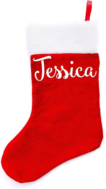 Boxer Gifts Jessica Xmas Cheap SALE Start Stockings 38 4 years warranty 16 x Multi-Colour Velvet