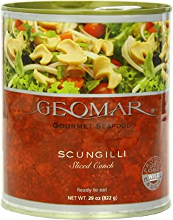 Geomar Chilean Gourmet Seafood, Scungilli, 29 Ounce