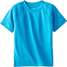 Kanu Surf Boys' Short Sleeve UPF 50+ Rashguard Swim Shirt