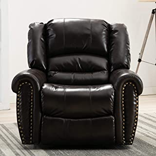 Best double recliner chair leather Reviews