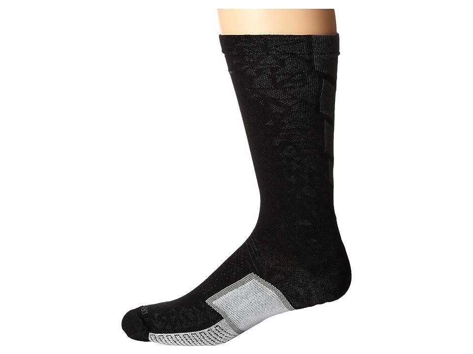 Nike Matchfit Elite Hypervenom (Black/Anthracite/Anthracite) Crew Cut Socks Shoes