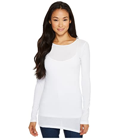LAmade Crew Neck Tunic (White) Women