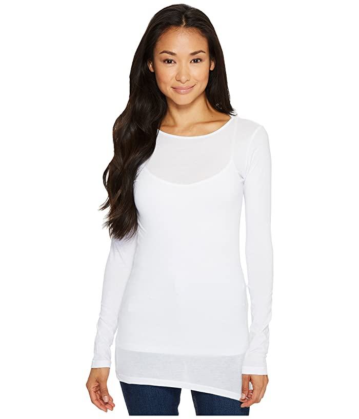 LAmade Crew Neck Tunic (White) Women's T Shirt
