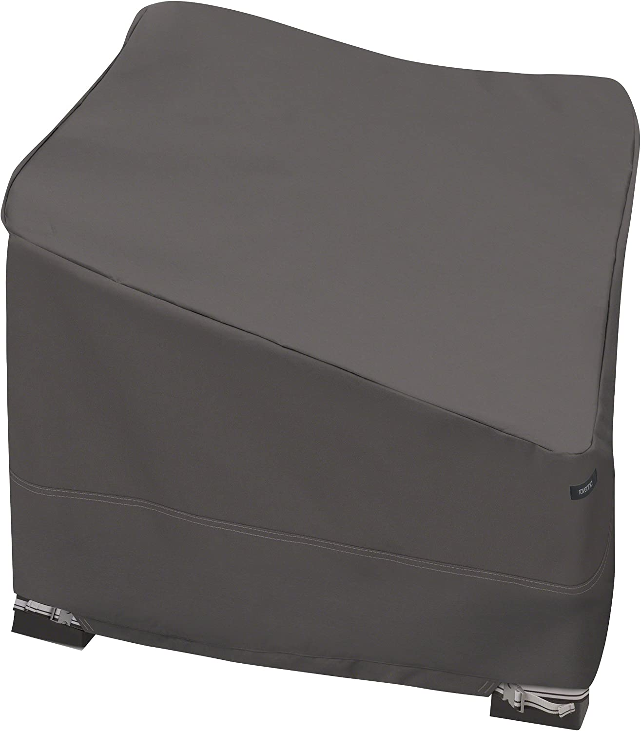 Classic Accessories Ravenna Patio Corner Sectional Cover - Premium Outdoor Furniture Cover with Durable and Water Resistant Fabric (55-427-045101-EC)