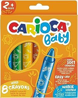 Carioca Baby Wild 8 Crayons