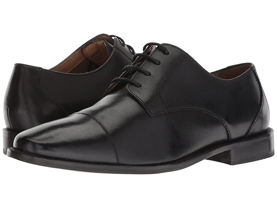 Florsheim Finley Cap-Toe Oxford (Black Smooth) Men