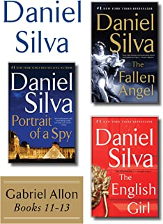 Daniel Silva's Gabriel Allon Collection, Books 11 - 13: Portrait of a Spy, The Fallen Angel, and The English Girl