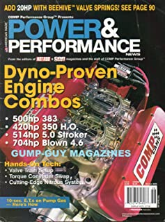POWER & PERFORMANCE NEWS Winter 2005 From The Editors of Hot Rod & Car Craft Magazine DYNO-PROVEN ENGINE COMBOS Valve Train Setup TORQUE CONVERTER SWAP Cutting-Edge Nitrous System