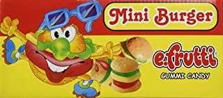 Gummy Burgers - Mini Gummi Burger (approximately 60 pieces)