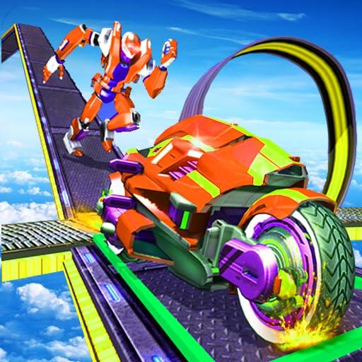 Mega Ramp Power Robot Rangers Stunts Racing Challenge product image