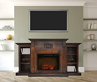 Best bookcase with electric fireplace Reviews