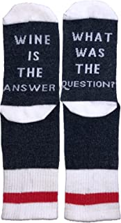 Wine Socks for Women - NEW Funny Socks Saying! Great for Gifts
