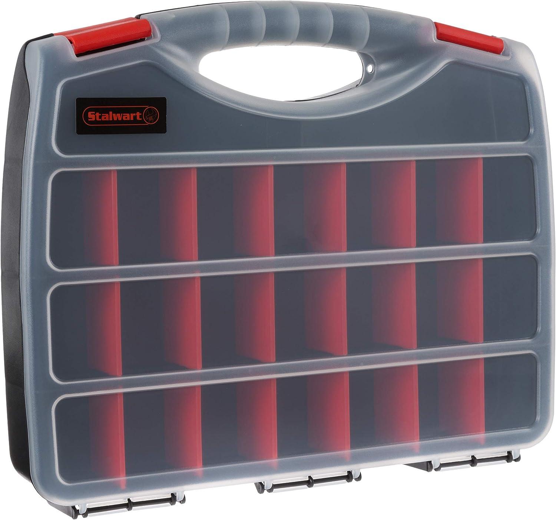 Portable 激安 Storage Case with Secure Locks 23 and 超定番 Compar Adjustable