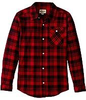 Lucky Brand Kids - Long Sleeve Plaid Shirt (Little Kids/Big Kids)